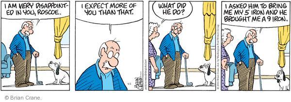 Comic Strip Brian Crane  Pickles 2011-04-01 club