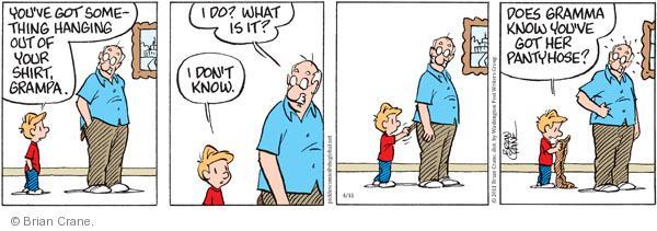 Comic Strip Brian Crane  Pickles 2011-04-11 grandmother