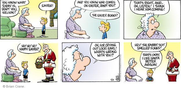 Comic Strip Brian Crane  Pickles 2011-04-24 seasonal