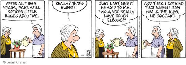 Comic Strip Brian Crane  Pickles 2011-04-28 night