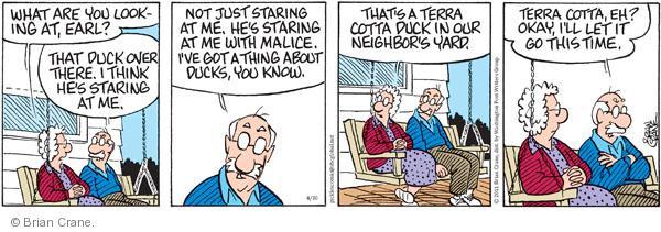 Comic Strip Brian Crane  Pickles 2011-04-30 over
