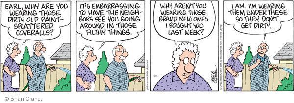 Comic Strip Brian Crane  Pickles 2011-05-06 get old