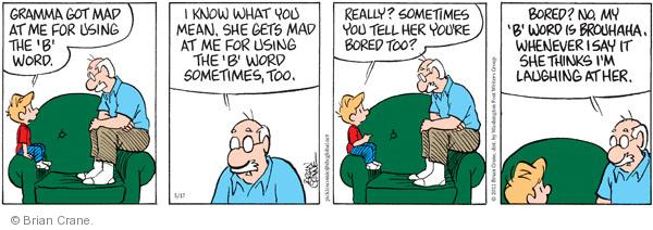 Comic Strip Brian Crane  Pickles 2011-05-17 grandmother
