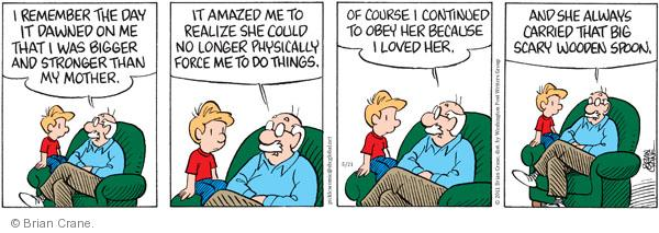 Comic Strip Brian Crane  Pickles 2011-05-21 no memory