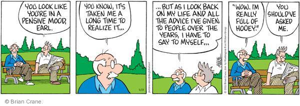 Comic Strip Brian Crane  Pickles 2011-05-23 advice