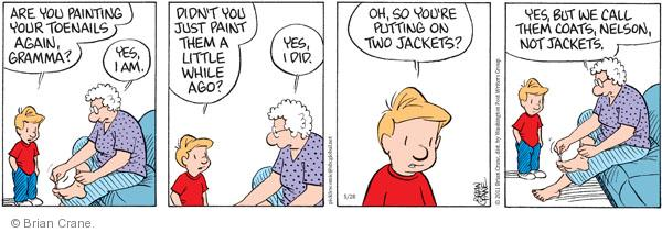Comic Strip Brian Crane  Pickles 2011-05-28 grandmother