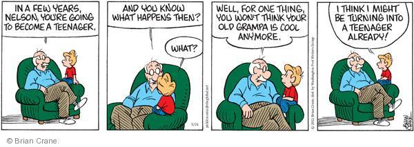 Comic Strip Brian Crane  Pickles 2011-05-31 going