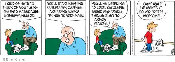 Comic Strip Brian Crane  Pickles 2011-06-01 Nelson