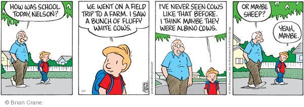 Comic Strip Brian Crane  Pickles 2011-06-03 Nelson