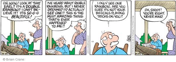 Comic Strip Brian Crane  Pickles 2011-06-06 AIDS