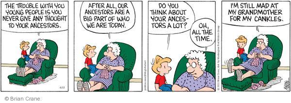 Comic Strip Brian Crane  Pickles 2011-06-13 grandmother