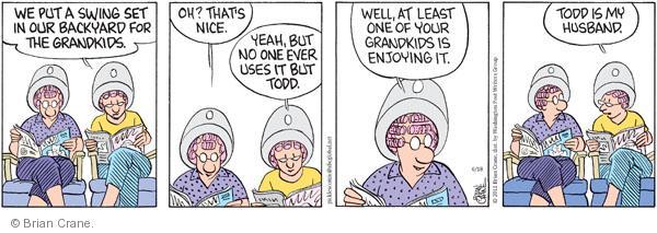 Comic Strip Brian Crane  Pickles 2011-06-18 husband