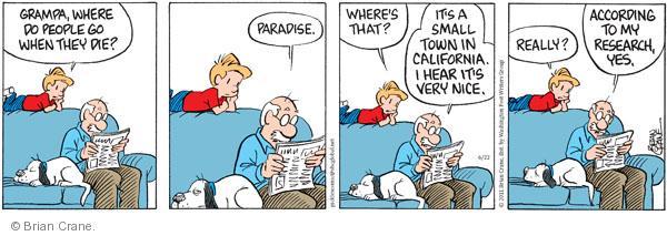 Comic Strip Brian Crane  Pickles 2011-06-22 town