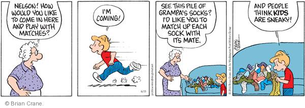 Comic Strip Brian Crane  Pickles 2011-06-25 Nelson