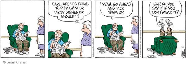 Comic Strip Brian Crane  Pickles 2011-07-15 going
