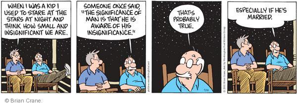 Comic Strip Brian Crane  Pickles 2011-07-16 awareness