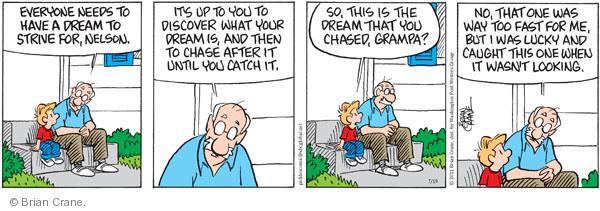 Comic Strip Brian Crane  Pickles 2011-07-19 Nelson