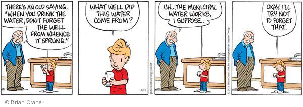 Comic Strip Brian Crane  Pickles 2011-08-13 work