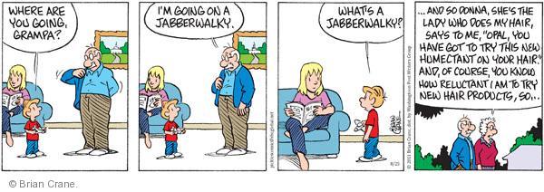 Comic Strip Brian Crane  Pickles 2011-08-25 Donna