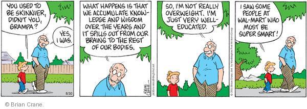 Comic Strip Brian Crane  Pickles 2011-08-30 over