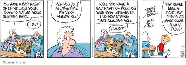 Comic Strip Brian Crane  Pickles 2011-08-31 bad