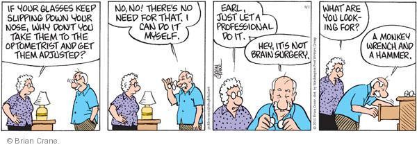 Comic Strip Brian Crane  Pickles 2011-09-02 take