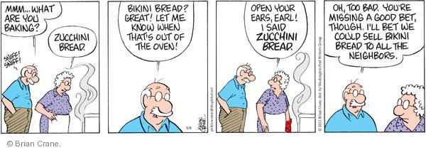 Comic Strip Brian Crane  Pickles 2011-09-08 oven