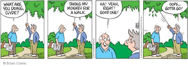 Comic Strip Brian Crane  Pickles 2011-09-16 take