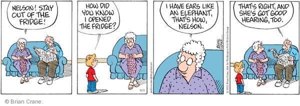 Comic Strip Brian Crane  Pickles 2011-09-22 too
