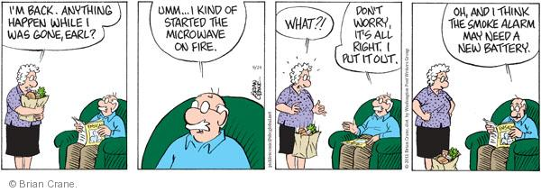 Comic Strip Brian Crane  Pickles 2011-09-24 battery