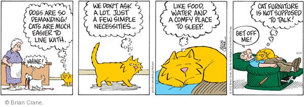 Comic Strip Brian Crane  Pickles 2011-09-29 easier
