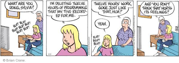 Comic Strip Brian Crane  Pickles 2011-09-30 record