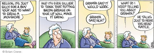 Comic Strip Brian Crane  Pickles 2011-10-05 hear