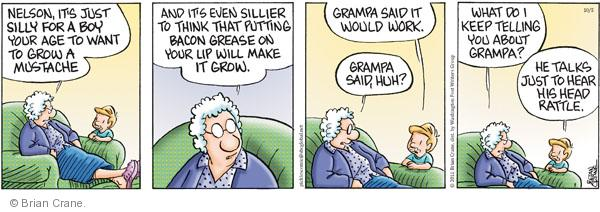 Comic Strip Brian Crane  Pickles 2011-10-05 advice