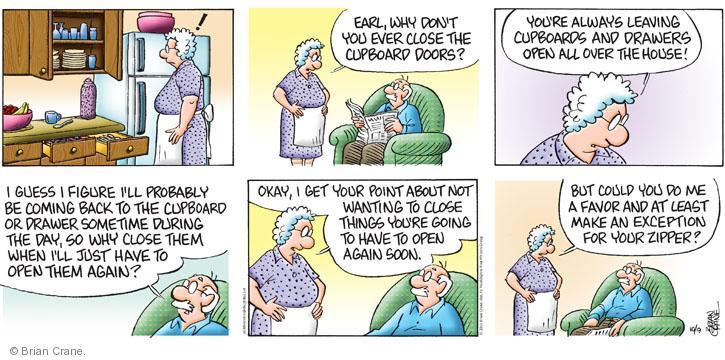 Comic Strip Brian Crane  Pickles 2011-10-09 drawer