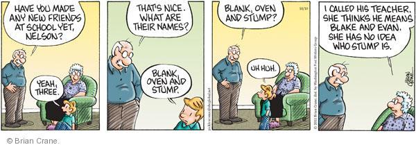 Comic Strip Brian Crane  Pickles 2011-10-10 oven
