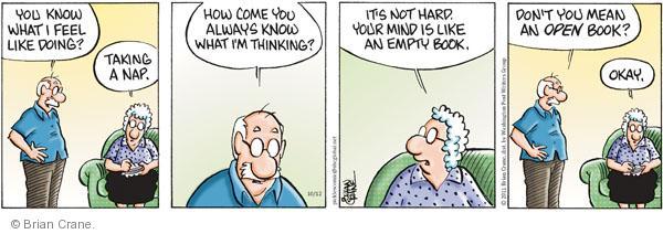 Comic Strip Brian Crane  Pickles 2011-10-12 regular