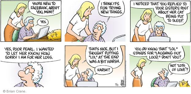 Comic Strip Brian Crane  Pickles 2011-11-13 sympathy