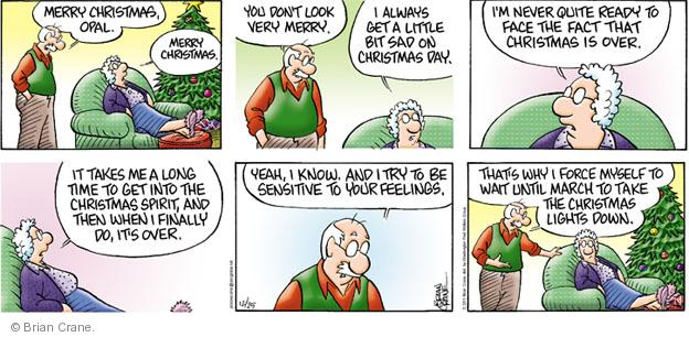 Cartoonist Brian Crane  Pickles 2011-12-25 long