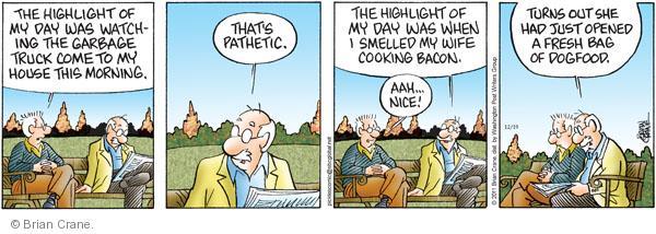 Comic Strip Brian Crane  Pickles 2011-12-19 dog food