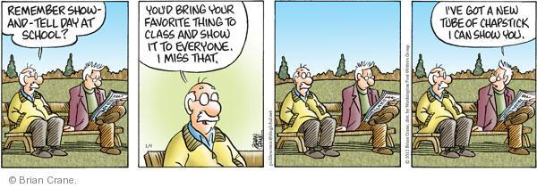 Comic Strip Brian Crane  Pickles 2012-01-09 tube