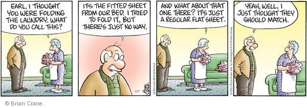 Comic Strip Brian Crane  Pickles 2012-01-17 sheet