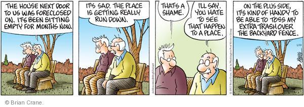 Cartoonist Brian Crane  Pickles 2012-01-30 extra