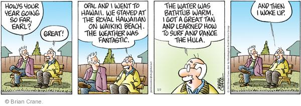 Comic Strip Brian Crane  Pickles 2012-02-02 weather