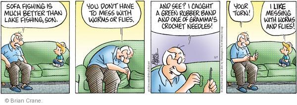Comic Strip Brian Crane  Pickles 2012-02-07 recreational