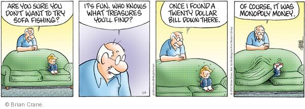 Comic Strip Brian Crane  Pickles 2012-02-08 grandson