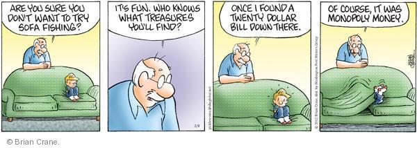 Comic Strip Brian Crane  Pickles 2012-02-08 fish