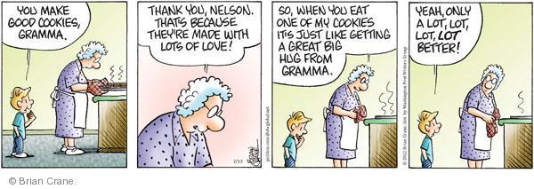 Comic Strip Brian Crane  Pickles 2012-02-13 Nelson