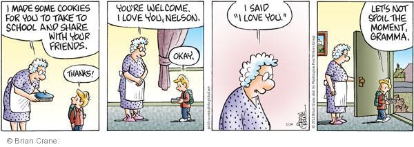 Comic Strip Brian Crane  Pickles 2012-02-14 Nelson