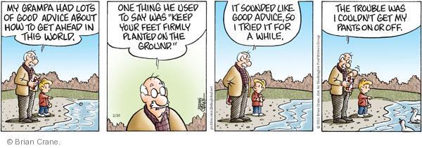 Comic Strip Brian Crane  Pickles 2012-02-20 good